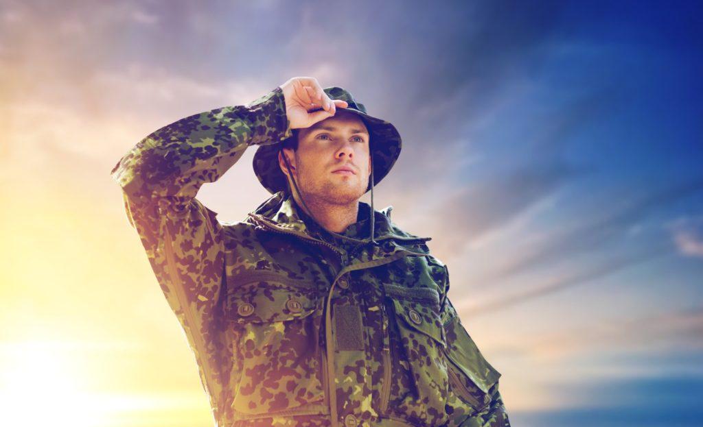 civilian military job